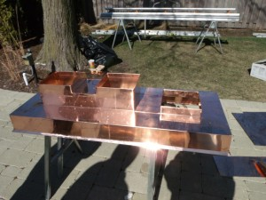 Copper Flashing