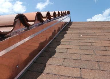 Copper Sidewall Flashing
